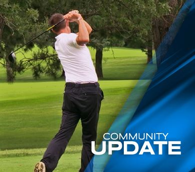 Photo of golfer