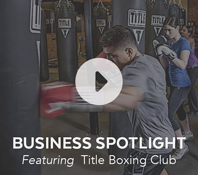 Title Boxing Club featured in the Business Spotlight article.